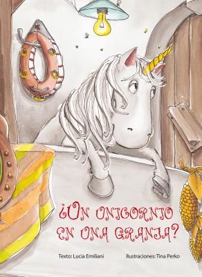 Un_unicornio_en_una_granja