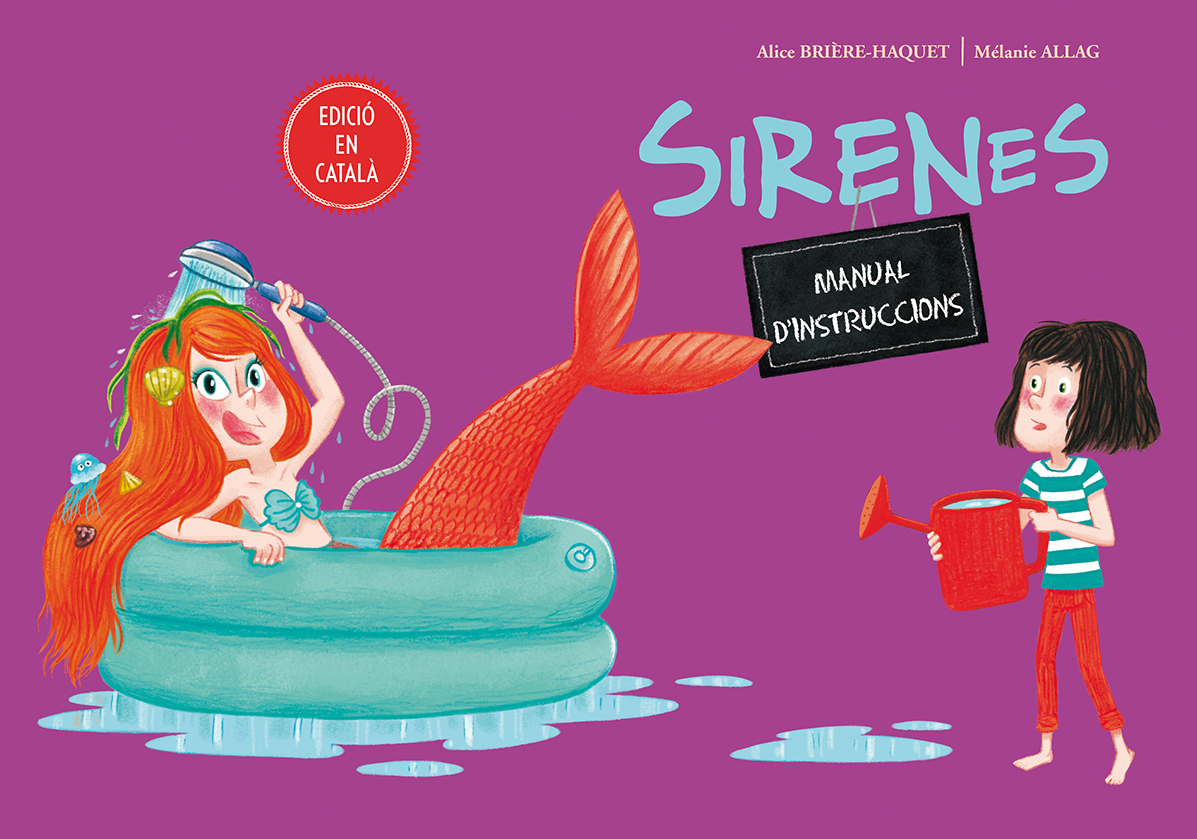 Sirenes. Manual d'instruccions | Picarona, libros infantiles
